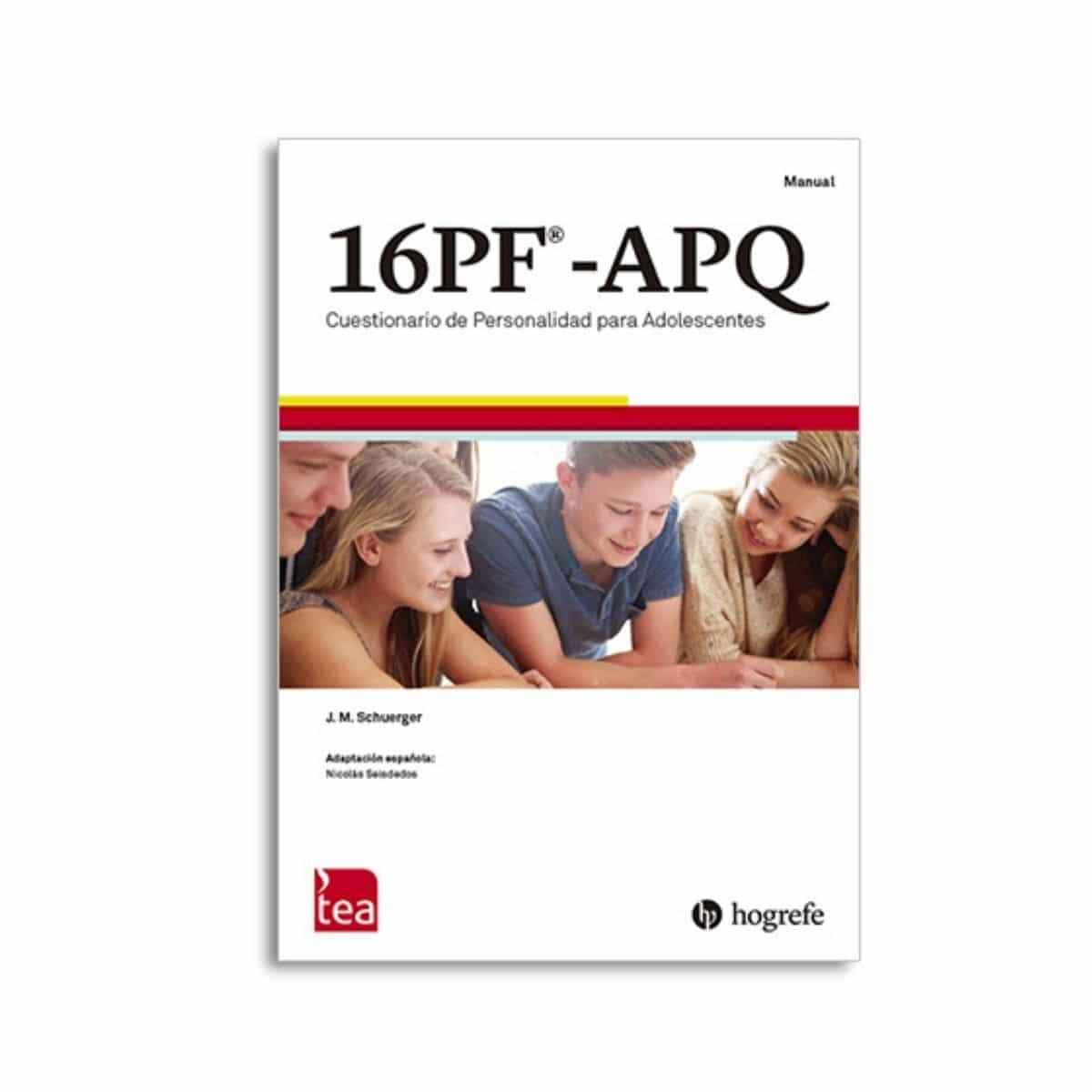 16PF-APQ Cuestionario de Personalidad para Adolescentes